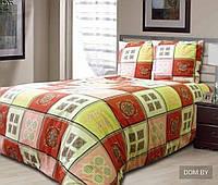Полуторные комплекты постельного белья из белорусской бязи, хлопок 100%