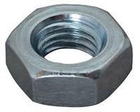 Гайка низкая DIN439 размер М2,5 сталь/цинк (4)