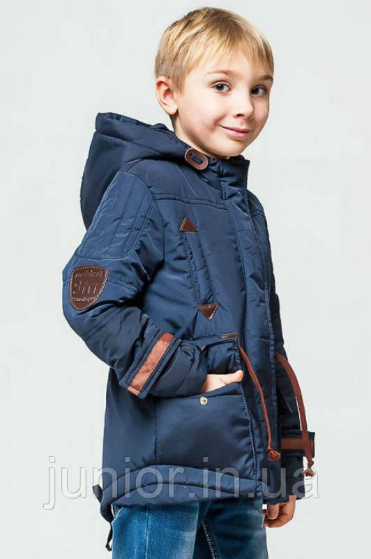 Модна куртка парку весна-осінь для хлопчика 140,146 р
