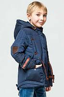 Модная куртка парка весна-осень для мальчика 140,146р