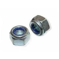 Гайка самоконтрящаяся DIN 985 размер М3 сталь/цинк (8)