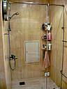 Душевая кабина 180 градусов с распашной дверью на стекле, фото 10