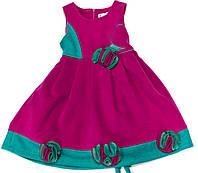 Платье для девочки 1013 малиновое