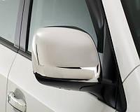 Накладки на зеркала на Тойота Аурис с 07-12 (нерж) OMSALINE Турция.