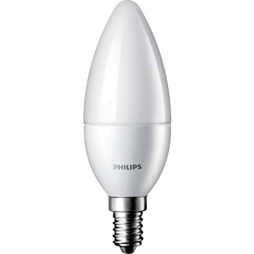 Светодиодная LED лампа Philips CorePro candle ND 3-25W E14 827 B39 FR