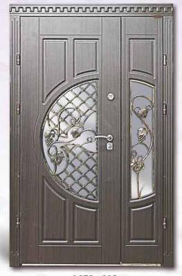 Входные двери из МДФ в дом