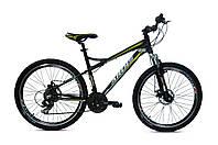 """Велосипед 26"""" Ardis МТВ XC 100 Черный с желтым"""