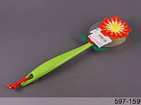 Щетка для тела Цветок Vigar 597-159