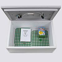 Инкубатор для яиц Цыпа ИБР-100, с ручным переворотом и аналоговым терморегулятором, обшит пластиком