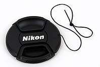 Крышка Nikon диаметр 52мм, со шнурком, на объектив
