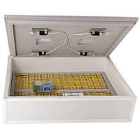 Инкубатор для яиц Цыпа ИБМ-140Ц, с механическим переворотом и цифровым терморегулятором, обшит пластиком