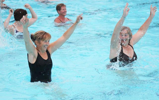 Первый уровень обучения тренеров аквааэробики ― базовый аквафитнес