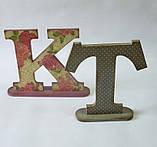 Буква Т (на подставке) заготовка для декора, фото 2