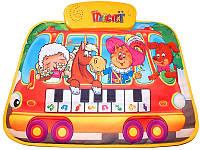Развивающий коврик Автобус пианино LX6238B