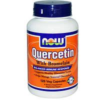 Кварцетин (Quercetin with bromelain) (400 мг) 120 капс.