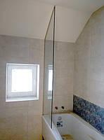 Стекляння шторка на ванную, фото 1