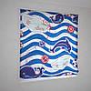 Римские фотошторы нарисованный океан