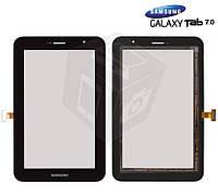 Touchscreen (сенсорный экран) для Samsung Galaxy Tab 7.0 Plus P6200, черный, оригинал