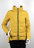 Куртка (парка) женская демисезонная MEAJIATEER M16-15 желтая
