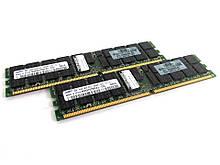 2 x 2GB DDR2 PC2-3200R 400MHz ECC ( 4GB ) Samsung