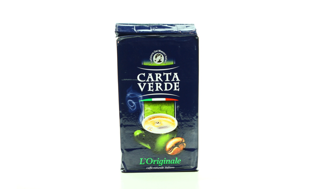 Кофе молотый Carta Verde  Tradizionale (Карта Верде) 250 гр.