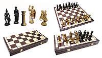 Шахматы из дерева на подарок SPARTAN