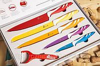 Набор ножей Swiss & Boch 5шт+экономка, фото 1