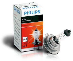 Автомобильные лампы Philips H7 Rally 80W