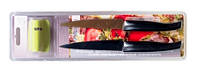 """Набор HILTON: два универсальных ножа с титановым покрытием 5"""" + точилка"""