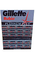 Лезвия для бритья  Rubie Platinum plus от Gillette