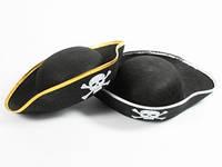Пиратская шапка Треуголка для праздника
