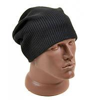 Серая шапка для мужчин зимняя