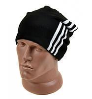 Мужская шапка черная зима 2016