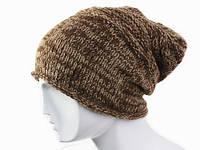 Вязанная зимняя шапка Ручная вязка