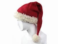 Санта Клаус шапка шерстяная Ручная вязка