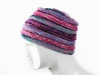 Классная вязанная шапка шерстяная Ассортимент Ручная вязка