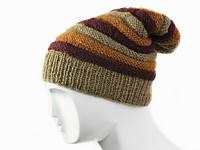 Стильная зимняя шапка 2016 Ручная вязка