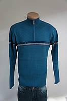 Мужской свитер синий