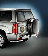 Защита задняя  Nissan Patrol 2004-2013