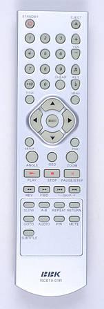 Пульт BBK RC019-01R (DVD) (CE)