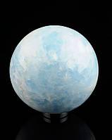 Шар из Агата голубой 75 мм