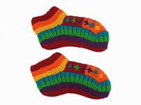 Шерстяные носки-тапочки для взрослых Ручная вязка в ассортименте