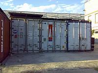 Аренда холодильного склада - рефрижераторные контейнеры 40 футов. Киев, ул. Бориспольская, 9.