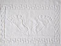 Коврик для ног Турция 650 плотность белый для душевой и ванны