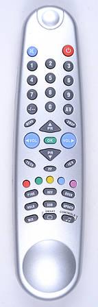 Пульт Beko C-7SZ206 (IR-557) (TV) Silver (CE)