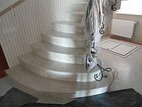 Изготовление и установка ступеней из мрамора