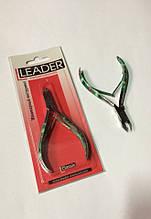 Маникюрные кусачки Лидер с цветными ручками