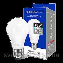 LED лампа GLOBAL A60 10W яскраве світло 220V E27 AL (1-GBL-164)