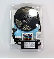Светодиодная LED лента 5050 RGB комплект +Адаптер+Контроллер