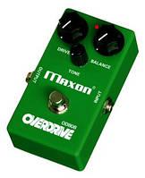 Maxon OD808 педаль для гитары, эффект overdrive